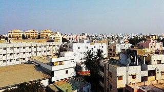 Kavali Town in Andhra Pradesh, India