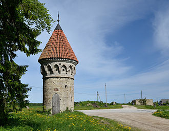 Dovecote - Pigeon tower in Kavastu, Estonia (built 1869)