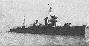 Japanese destroyer Kawakaze (1936) - Kawakaze