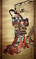Kawanabe kyosai, la cortigiana infernale jogoku dayu, 1870-1880 ca. 02.jpg