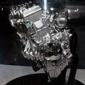 Kawasaki motorcycle supercharged engine 2013 Tokyo Motor Show.jpg