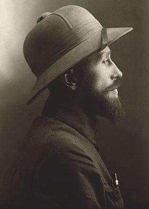 Kazimierz Nowak - Image: Kazimierz Nowak in profile