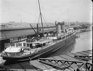 TSS Scotia (1902) - Image: Keep Off Propellor (10418064245)