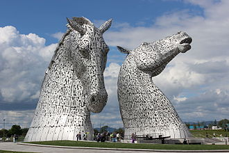 Falkirk - The Kelpies at Helix Park