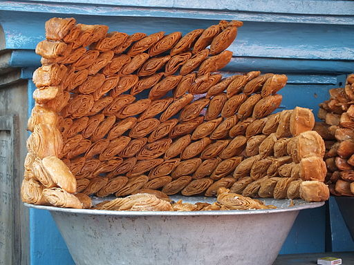 Khaja Sweet from Puri, Odisha