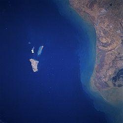 جزیره خارک عکس ماهواره ای