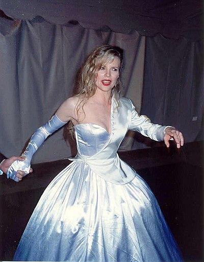 Kim Basinger, American actress, singer and former fashion model