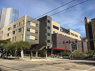 Kinder High School for the Performing and Visual Arts - New downtown HSPVA campus