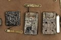 Kinesiska bronsbeslag till axelremmar - Hallwylska museet - 98756.tif