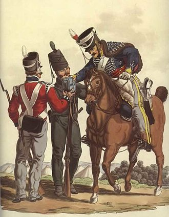 Coalition forces of the Napoleonic Wars - Soldiers of the King's German Legion