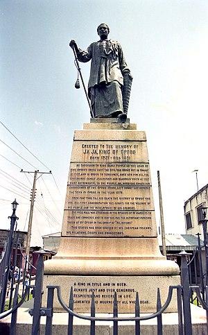 Opobo - Image: King Jaja Opobo statue 2