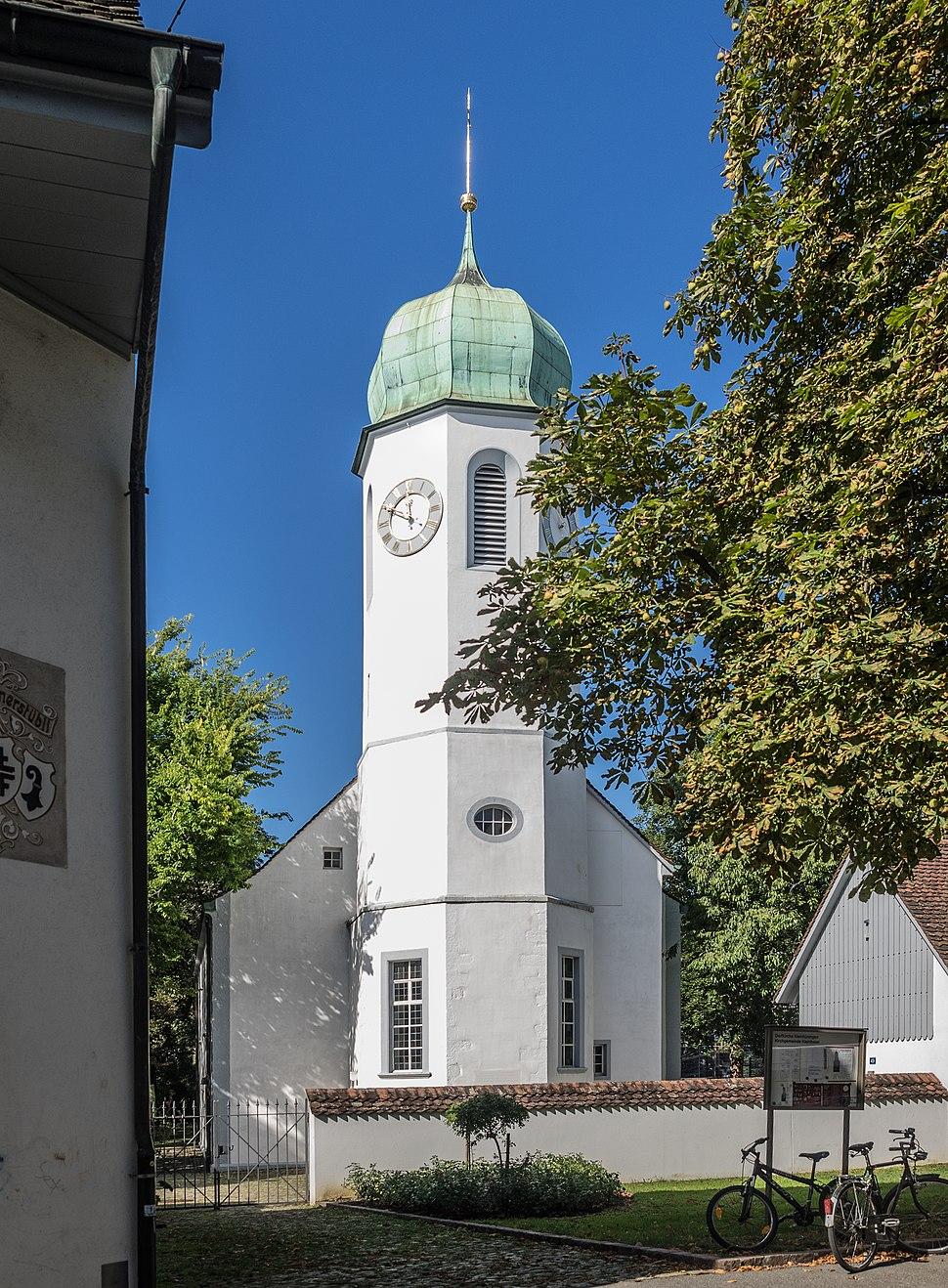 Kirche Kleinhüningen
