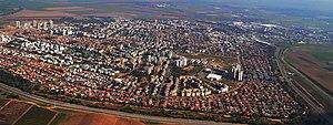 Kiryat Gat - Aerial view of Kiryat Gat