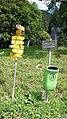 Klosters-near Suspension bridge Schlappintobel-sign post-01.jpg
