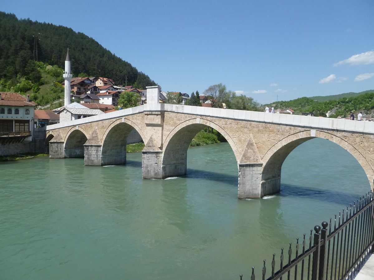 Stone Arch Bridge Design Stara Ćuprija - Wikip...