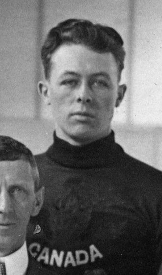 Konrad Johannesson - Johannesson at the 1920 Olympics