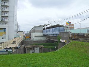 Kōnodai Station - Kōnodai Station, June 2006