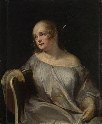 Konstantin Danil - Portrait of his Wife, Sofia Dely