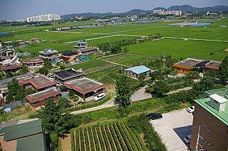 Anseong - Image: Korea Anseong 004