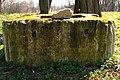 Koscielniki Wodzicki palace fountain inscription.jpg
