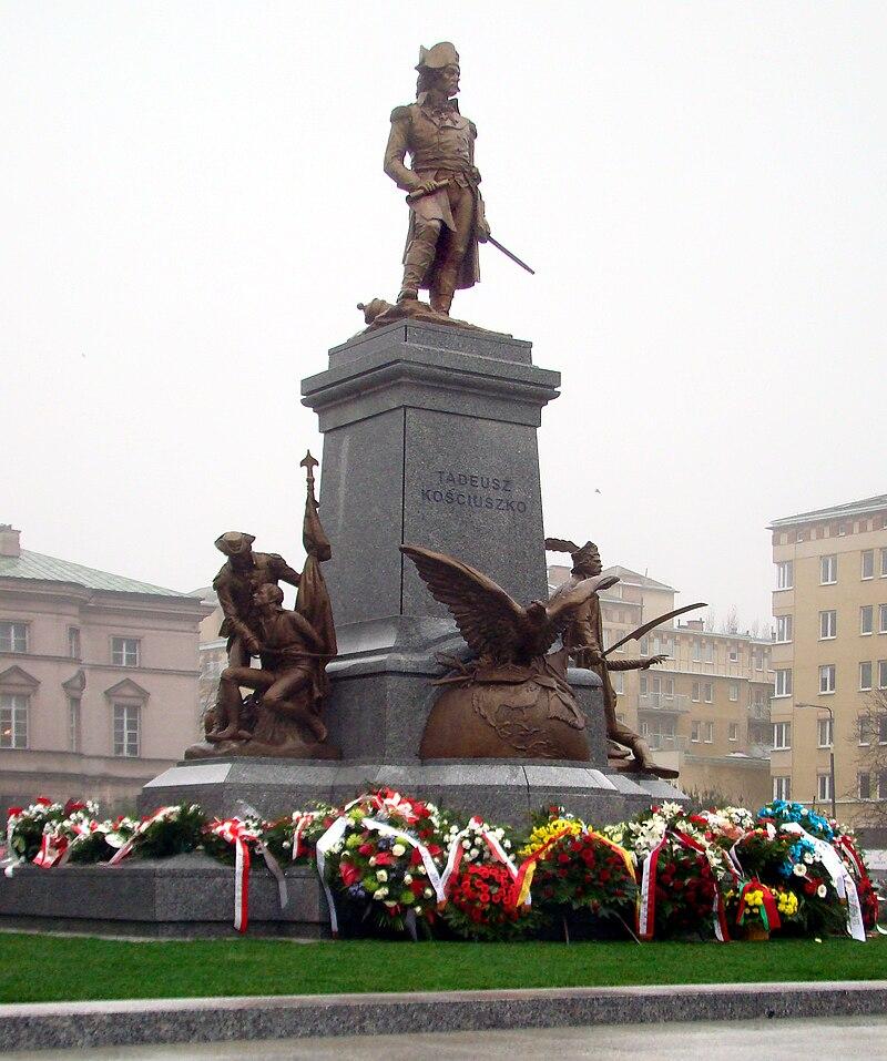 Pomnik Tadeusza Kościuszki w Warszawie, 2010