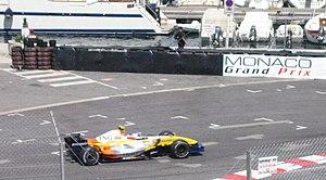 2007 Monaco Grand Prix - Heikki Kovalainen in Monaco