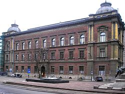 Kraków Academy of Fine Arts named after Matejko in 1979, where he served as president of many years.