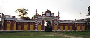 Krishnanagar, Nadia - External view of Royal Palace