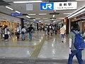 Kurashiki Station north exit 01.jpg