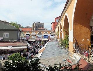 Kürkçü Han Caravanserai in Istanbul, Turkey