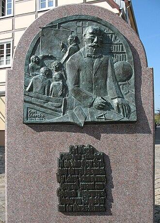 Kyritz - Image: Kyritz Brunnen Diercke