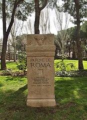 Monumento del Parque de Roma