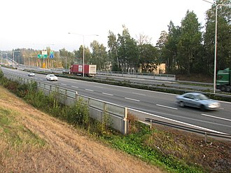 Länsiväylä - Image: Länsiväylä