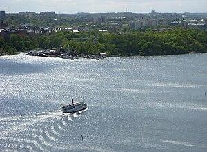 Riddarfjärden - Image: Långholmen 2009a