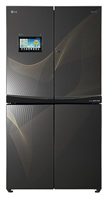 760580ff5 ثلاجة الإنترنت، انتاج 2012 من مجموعة إل جي (LG).