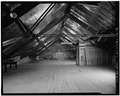 LOFT, LOOKING SOUTH - Fort Sheridan, Cavalry Stable, Thorpe and Chapman Roads, Lake Forest, Lake County, IL HABS ILL,49-FTSH,1-14-6.tif