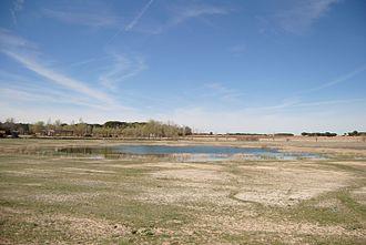 Crime of Cuenca - La Celadilla, an example of a endorheic lake.