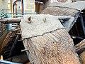 La Chaussée-Tirancourt (80), parc Samara, pavillon d'exposition - la construction des toitures 2.jpg