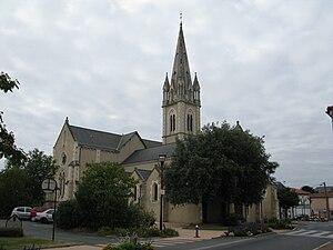La Ferrière, Vendée - The church in La Ferrière