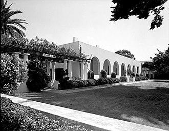 Irving Gill - La Jolla Woman's Club (photo taken 1971)