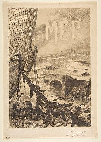 Félix Bracquemond - Image: La Mer MET DP814171