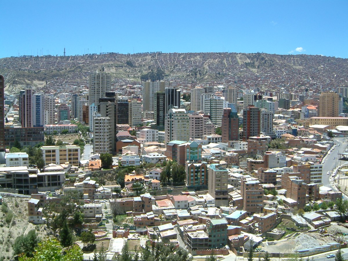 La paz wikipedia wolna encyklopedia for In the city of la