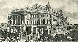 La Plata - Postal Teatro Argentino - 1904