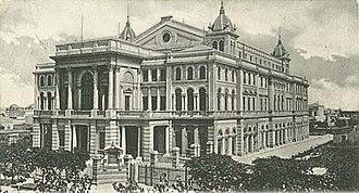 Teatro Argentino de La Plata - The former Teatro Argentino (1904)