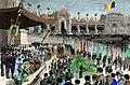 La fête patriotique du cinquantenaire de l'indépendance belge en 1880 - Version colorisée.jpg