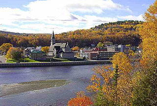 La Malbaie City in Quebec, Canada