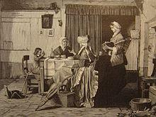 alcve amnag en lit clos lillustration europenne 1881 - Chambre Alcove Definition