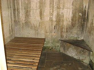 History of Lacock - Interior of village lock-up