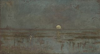 Fisherman by the Moonrise