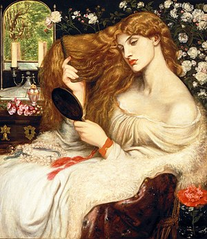 Lady Lilith by Dante Gabriel Rossetti. The sym...